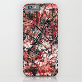 Imogene in Red iPhone Case