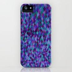Watercolour Diamonds Plum iPhone (5, 5s) Slim Case
