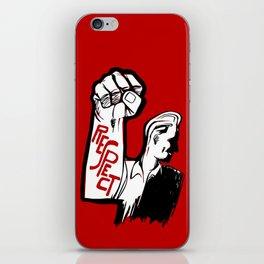 Respect!! iPhone Skin