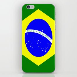 Flag of Brazil iPhone Skin