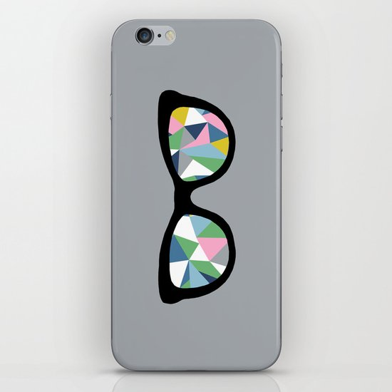 Abstract Eyes iPhone & iPod Skin
