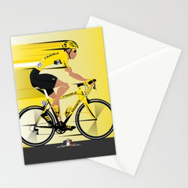 France Yellow Jersey Stationery Cards
