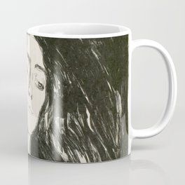 "Edvard Munch ""The Brooch. Eva Mudocci"", 1903 Coffee Mug"