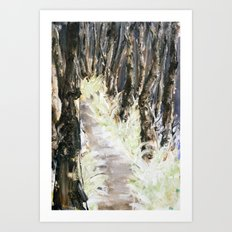 Bike Trail Art Print