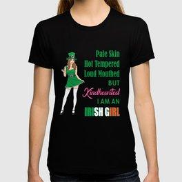 I am an Irish Girl St.Patty's Day Women Gift Shirt T-shirt
