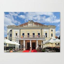 Sibiu Concert Hall Canvas Print