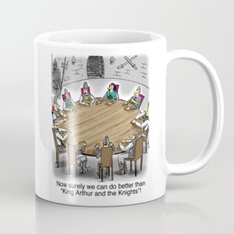 King Arthur and The Knights of the Round Table Coffee Mug