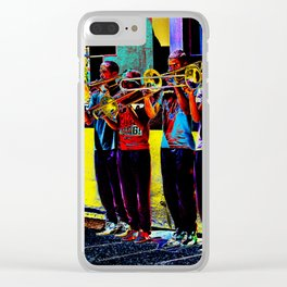 Trumpet players of Cape Town Clear iPhone Case