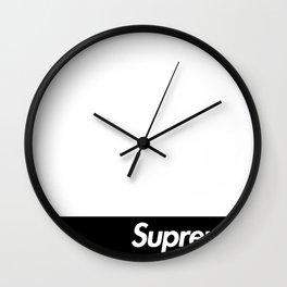 Supreme Logo Box Wall Clock
