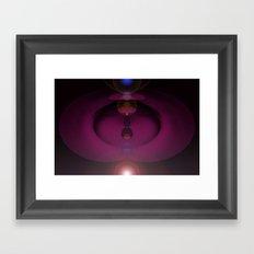 Cosmic Plumb. Framed Art Print