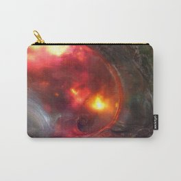 Flaming Seashell 5 Carry-All Pouch