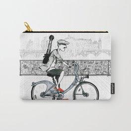 A Few Parisians: Pont des Arts Carry-All Pouch