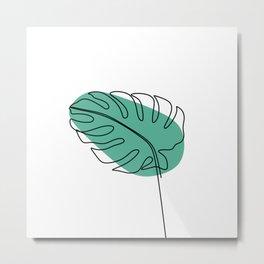 Foliage line Metal Print