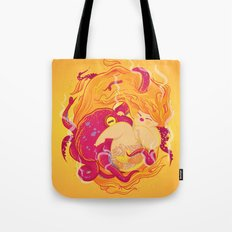 I'm on fire Tote Bag