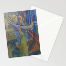 J in the dragon house Stationery Cards