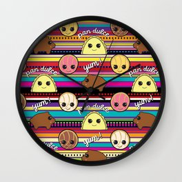 Pan Dulce Wall Clock