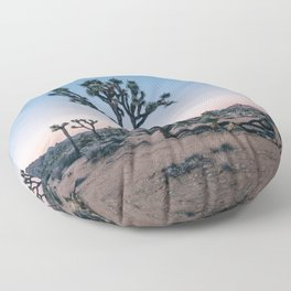 Joshua Tree at Sunset Floor Pillow