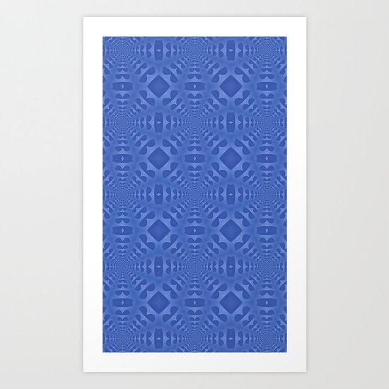 Blue One Art Print