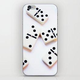 Dominoes Pattern #5 iPhone Skin