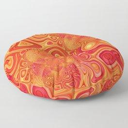 gold solaris Floor Pillow