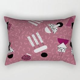 geometric IIII Rectangular Pillow