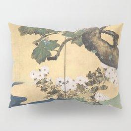 Paulownias and Chrysanthemums Pillow Sham