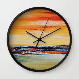 THE SHORE Wall Clock