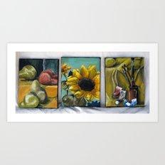 Ithaca Sunflower Art Print