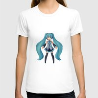 vocaloid T-shirts featuring Digital Song by Nozubozu