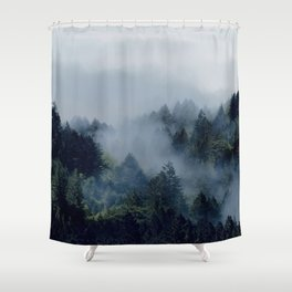 End in fire Shower Curtain