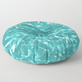 Abstract Water Design Floor Pillow