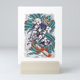 gundam barbatos wave Mini Art Print
