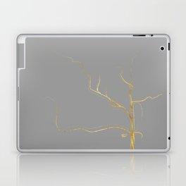 Kintsugi 3 #art #decor #buyart #japanese #gold #grey #kirovair #design Laptop & iPad Skin