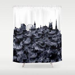 Sheffield Skyline Great Britain Shower Curtain