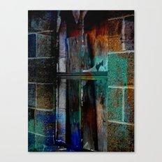 Through Yonder Window Breaks Canvas Print