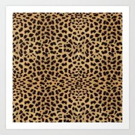 Cheetah Print Art Print