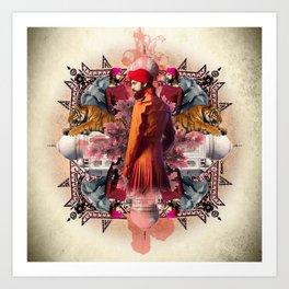 Kaleidoscope India Art Print