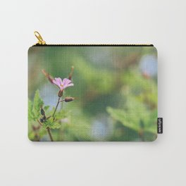 Pink Geranium Flower - Geranium Maculatum Carry-All Pouch