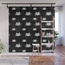 Kitties | Black Wall Mural