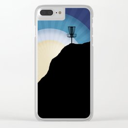 Basket On A Mountain Clear iPhone Case