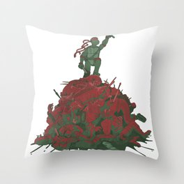 Never Forget That They Were Ninja Throw Pillow