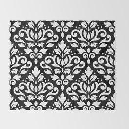 damask design throw blankets society6