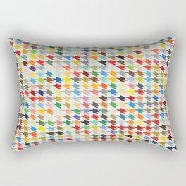Hirstooth Pattern Rectangular Pillow