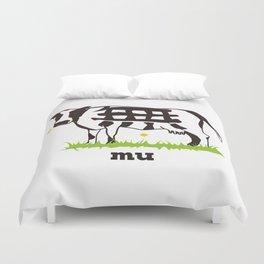 Mu cow Duvet Cover