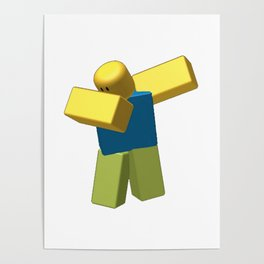 Coolest Roblox Dab Poster