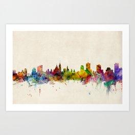 Ottawa Canada Skyline Art Print