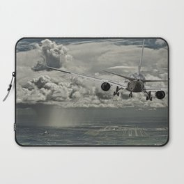 Stormy approach Laptop Sleeve