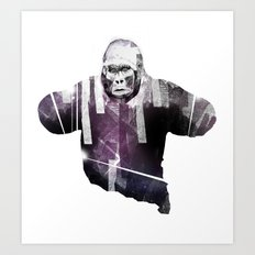 big animal Art Print