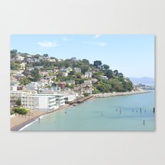 Sausalito, California Canvas Print