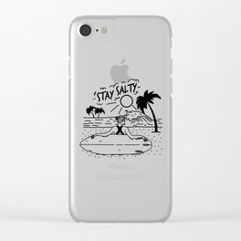 Stay Salty Clear iPhone Case